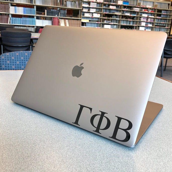 Gamma Phi Beta Greek Letter Decal