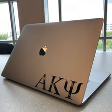 Load image into Gallery viewer, Alpha Kappa Psi Greek Letter Decal (Black)