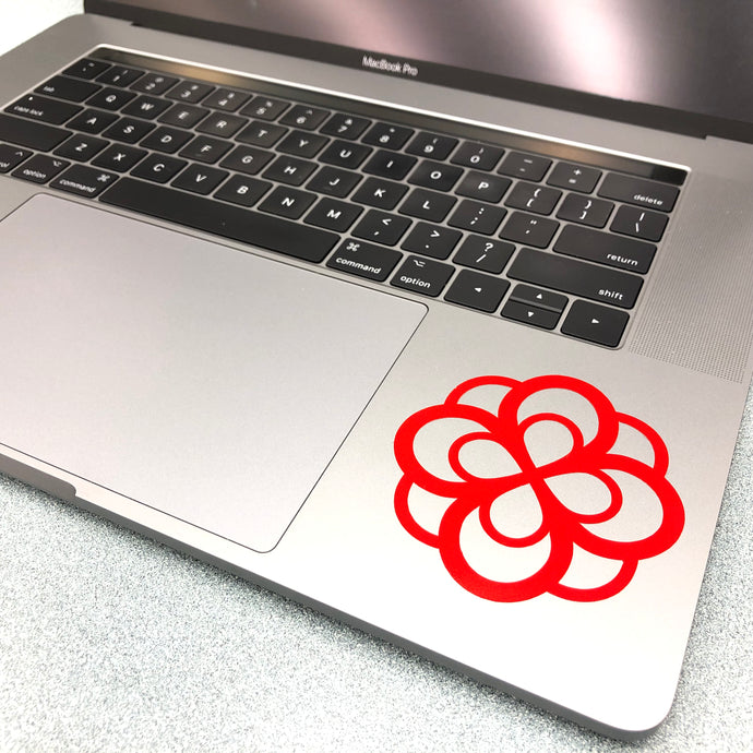 Alpha Omicron Pi Infinity Rose Decal