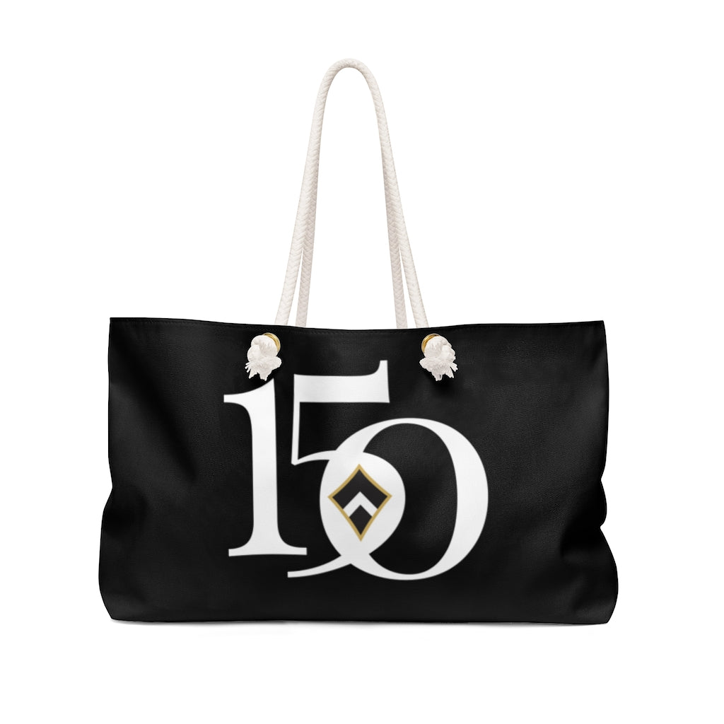Kappa Alpha Theta Limited Edition 150th Anniversary Weekender Tote Bag (Black)