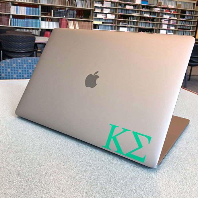 Kappa Sigma Greek Letter Decal