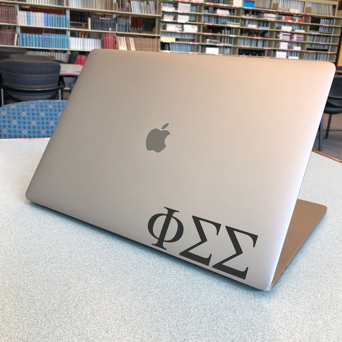 Phi Sigma Sigma Laptop Sticker Car Decal