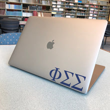 Load image into Gallery viewer, Phi Sigma Sigma Laptop Sticker Car Decal