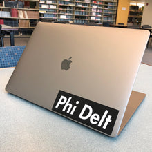 "Load image into Gallery viewer, Phi Delta Theta ""Phi Delt"" Box Logo Decal"