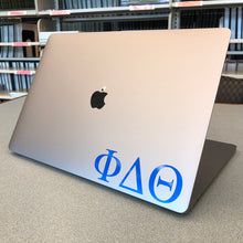 Load image into Gallery viewer, Phi Delta Theta Greek Letter Decal