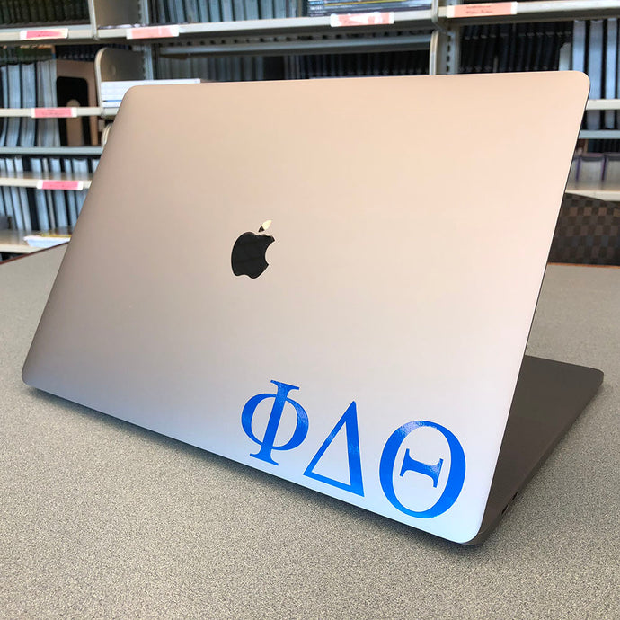 Phi Delta Theta Greek Letter Decal