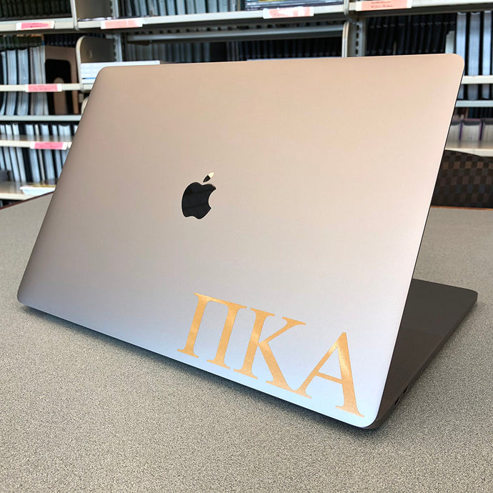 Pi Kappa Alpha Greek Letter Decal