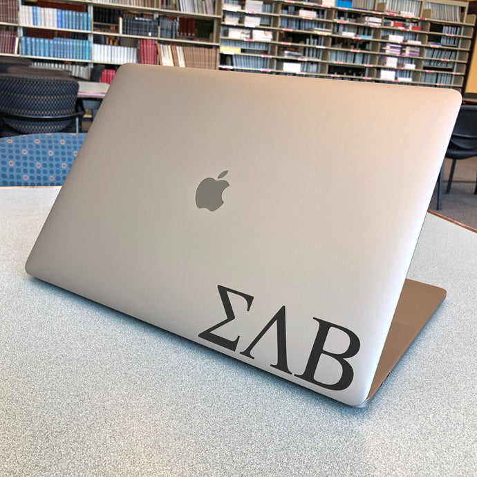 Sigma Lambda Beta Greek Letter Decal