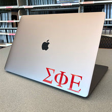 Load image into Gallery viewer, Sigma Phi Epsilon Greek Letter Decal