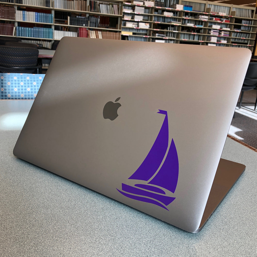 Sigma Sigma Sigma Sailboat Decal