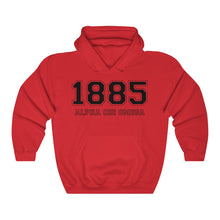 Load image into Gallery viewer, Alpha Chi Omega Founding Year Hoodie (Red)