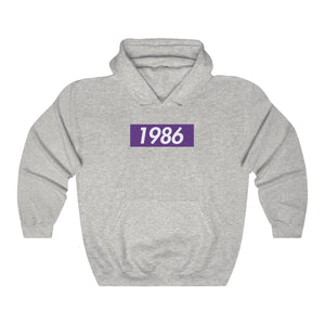 Grey Sigma Lambda Beta Supreme Box Logo Hoodie