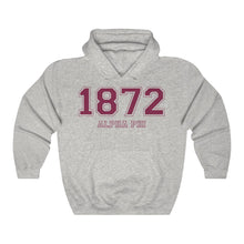 Load image into Gallery viewer, Alpha Phi Founding Year Hoodie (Ash Grey)