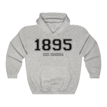 Load image into Gallery viewer, Chi Omega Founding Year Hoodie (Ash Grey)