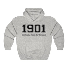 Load image into Gallery viewer, Sigma Phi Epsilon Founding Year Hoodie (Ash Grey))