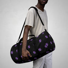 "Load image into Gallery viewer, Sigma Lambda Beta ""The Key"" Logo Duffel Bag"