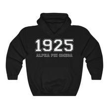 Load image into Gallery viewer, Alpha Phi Omega Founding Year Hoodie (Black)