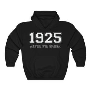 Alpha Phi Omega Founding Year Hoodie (Black)