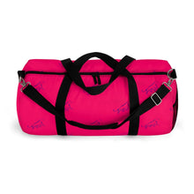 Load image into Gallery viewer, Sigma Lambda Gamma Panther Pattern Duffel Bag