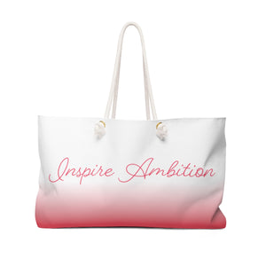 "Alpha Omicron Pi ""Inspire Ambition"" Weekender Tote Bag"