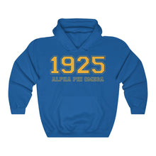 Load image into Gallery viewer, Alpha Phi Omega Founding Year Hoodie (Royal Blue)