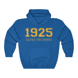Alpha Phi Omega Founding Year Hoodie (Royal Blue)