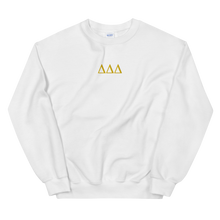 Load image into Gallery viewer, Delta Delta Delta Letters Embroidered Sweatshirt