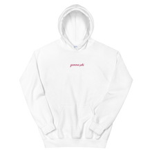 "Load image into Gallery viewer, Gamma Phi Beta ""gamma phi"" Embroidered Script Hoodie"