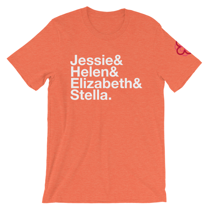 Alpha Omicron Pi Founders Shirt (Orange)