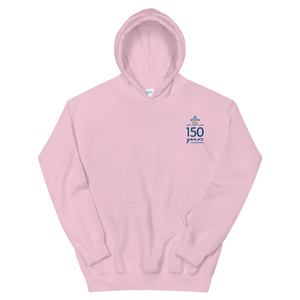 Kappa Kappa Gamma Limited Edition 150th Anniversary Embroidered Hoodie (Light Pink)