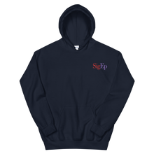 Load image into Gallery viewer, Sigma Phi Epsilon SigEp Logo Embroidered Hoodie (Navy)