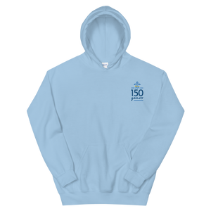 Kappa Kappa Gamma Limited Edition 150th Anniversary Embroidered Hoodie (Light Blue)