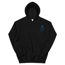 Load image into Gallery viewer, Kappa Kappa Gamma Limited Edition 150th Anniversary Embroidered Hoodie (Black)