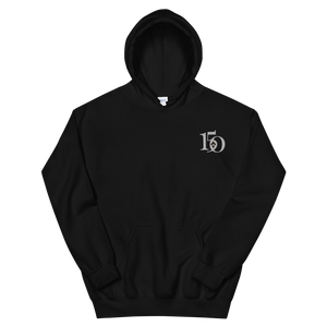 Kappa Alpha Theta Limited Edition 150th Anniversary Embroidered Hoodie (Black)