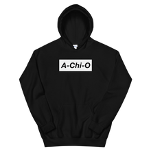 "Load image into Gallery viewer, Alpha Chi Omega ""A-Chi-O"" Block Hoodie (Black)"