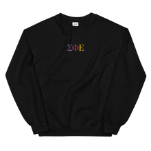 Load image into Gallery viewer, Sigma Phi Epsilon Official Greek Letters Embroidered Sweatshirt