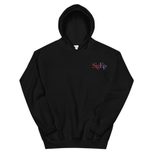 Load image into Gallery viewer, Sigma Phi Epsilon SigEp Logo Embroidered Hoodie (Black)