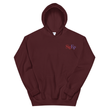 Load image into Gallery viewer, Sigma Phi Epsilon SigEp Logo Embroidered Hoodie (Maroon)