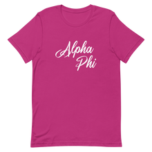 Load image into Gallery viewer, Alpha Phi YoungScript Shirt