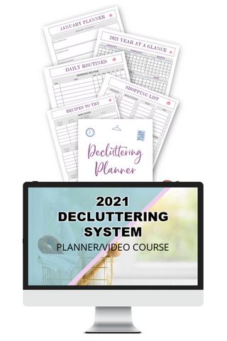 2021 Decluttering Planner & Video Course