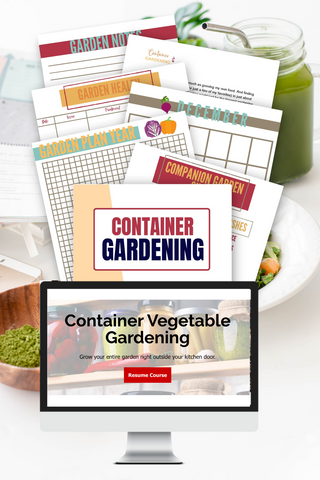 Container Garden Planner & Course Bundle