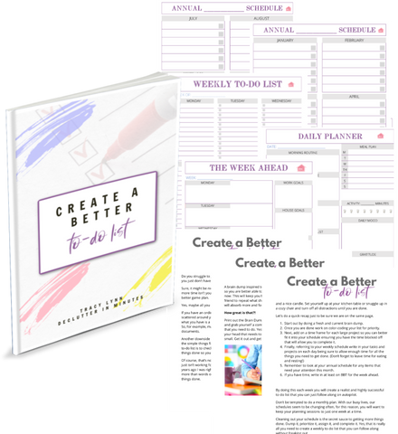 Create a Better To-Do list Bundle