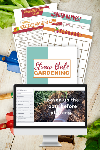 Straw Bale Planner & Course Bundle