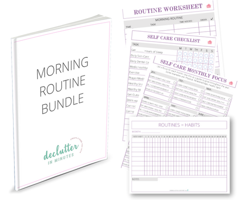 Routine/Habits/Self Care Bundle