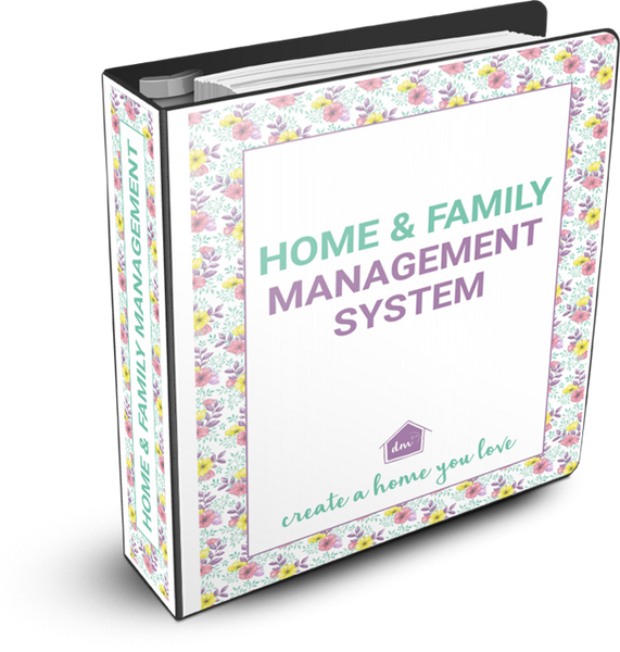 Declutter in Minutes Home and Family Management System