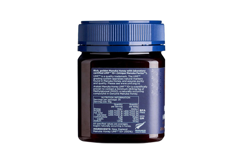 Manuka Honey UMF™10+ (MGO 263+) 250g