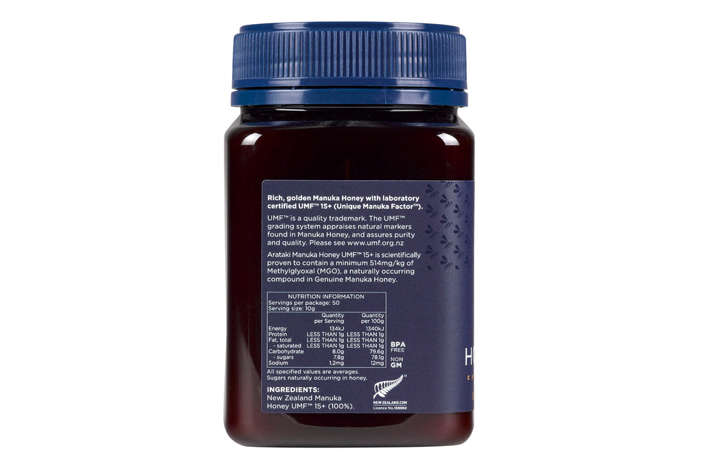 Manuka Honey UMF™15+ (MGO 514+) 500g