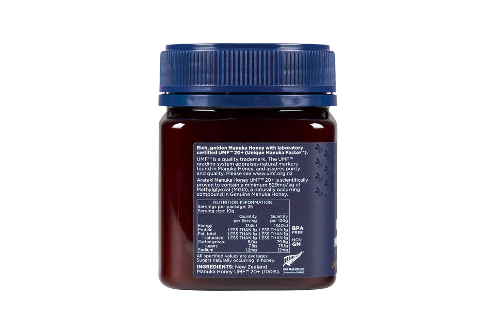 Manuka Honey UMF™20+ (MGO 829+) 250g