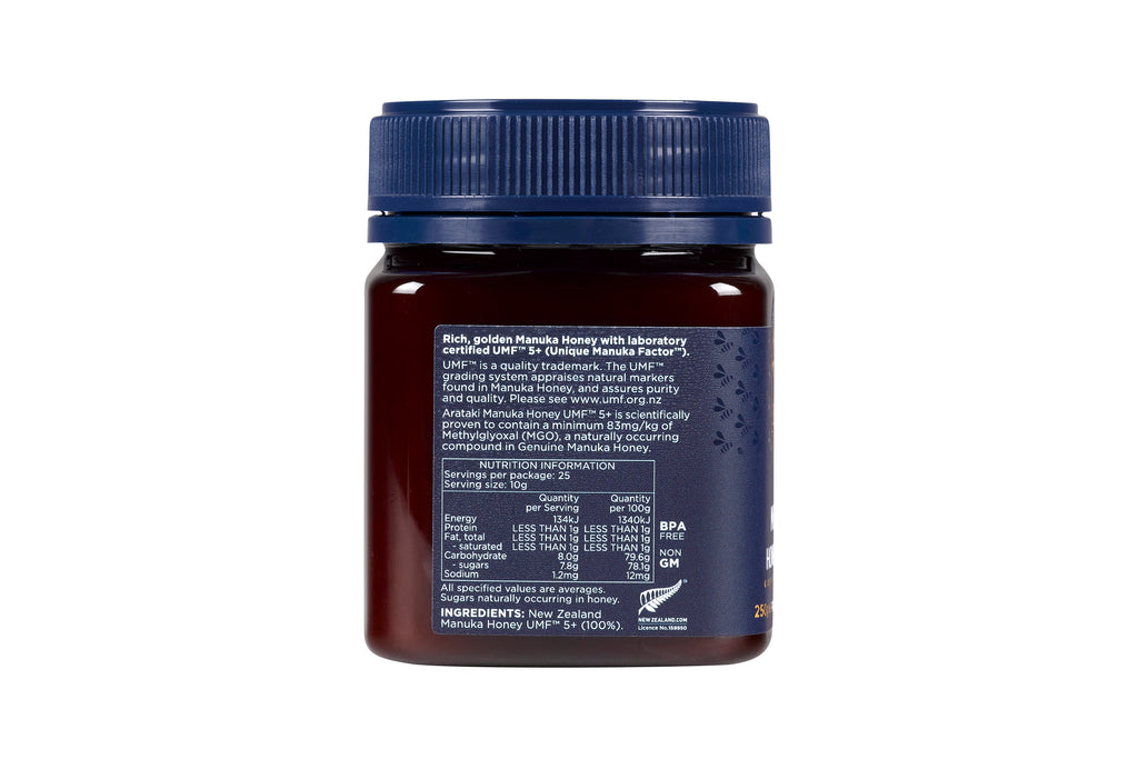 Manuka Honey UMF™5+ (MGO 83+) 250g