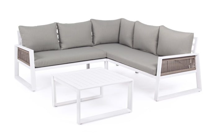 Garten Lounge Ecke inkl. Coffee Table / BohoStyle / Outdoor Sofa - WUUD